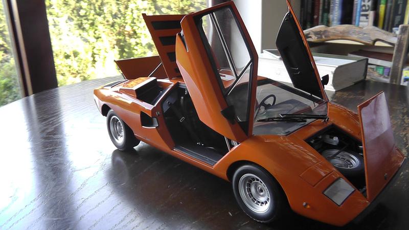 1 12 Kyosho Lamborghini Countach Lp400 Lamborghini